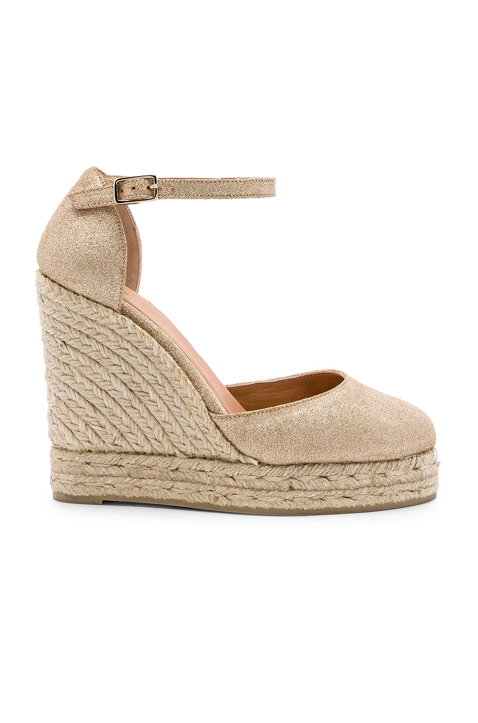 Castaner Carissa Wedge in Oro