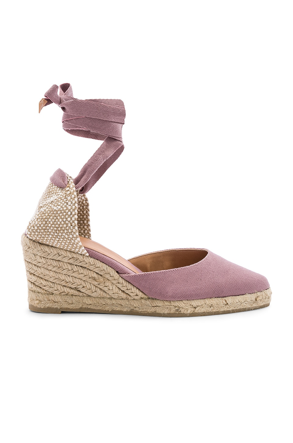 Castaner Joyce Wedge in Malva