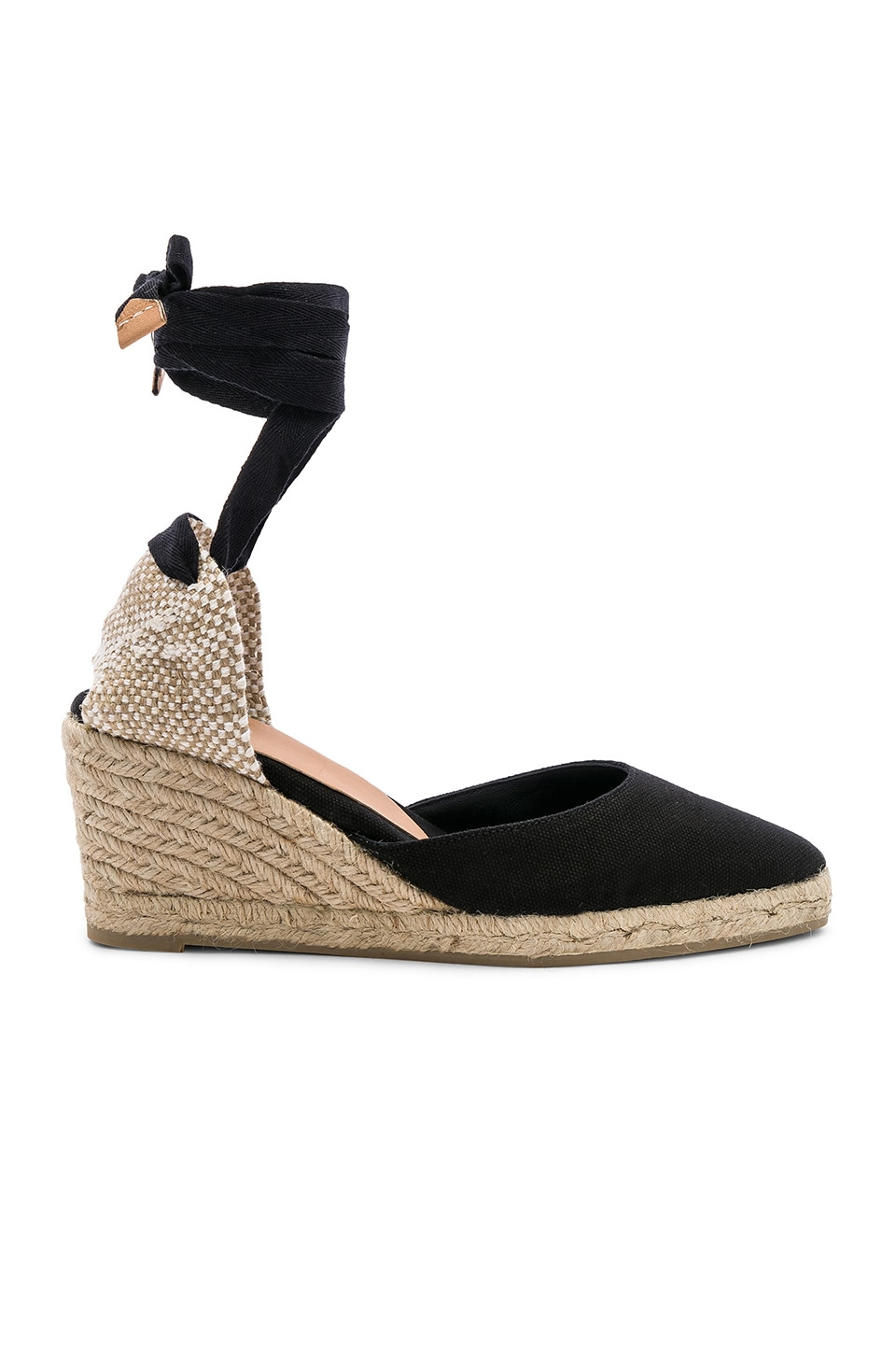 Castaner Joyce Wedge in Negro