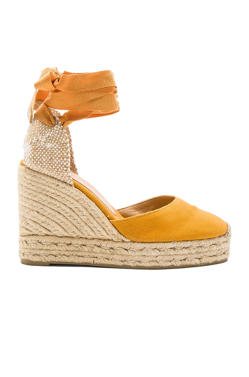 Castaner Carina Wedge in Ocre