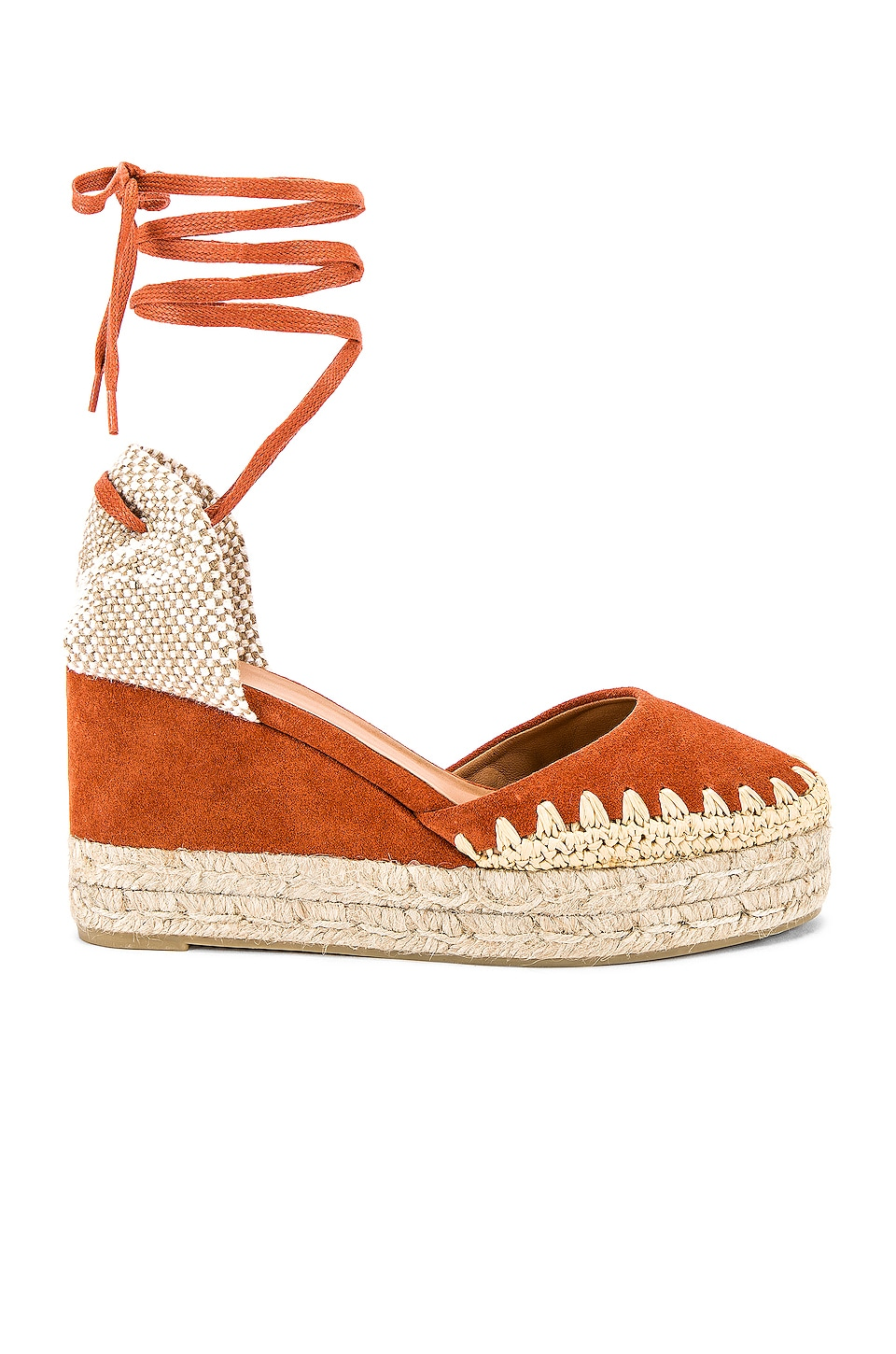 Castaner Cavan Wedge in Terracotta