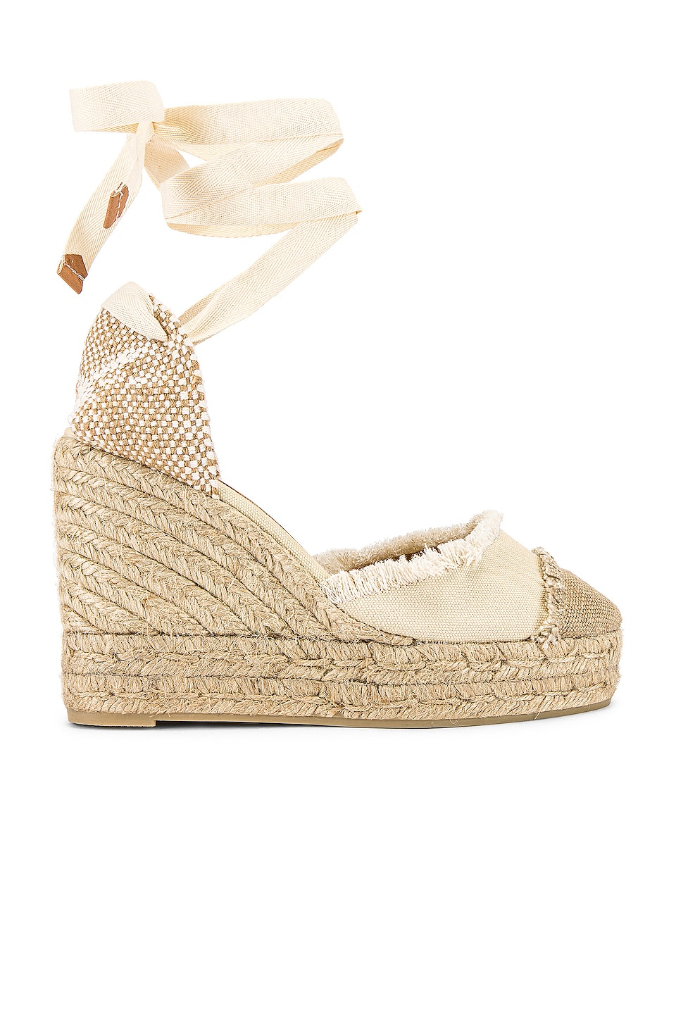 Castaner Catalina Wedge in Ivory