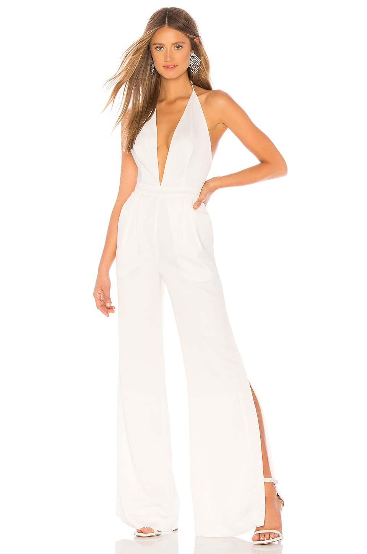 Chrissy Teigen x REVOLVE White Temple Jumpsuit in Ivory