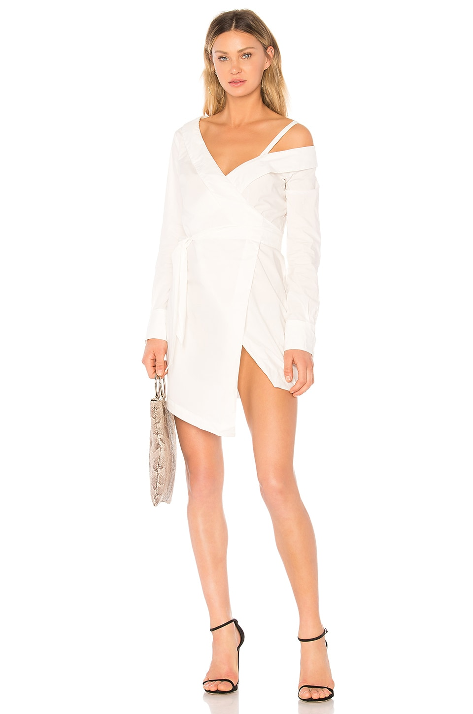 CHRISSY TEIGEN X REVOLVE DESTINATION WRAP DRESS