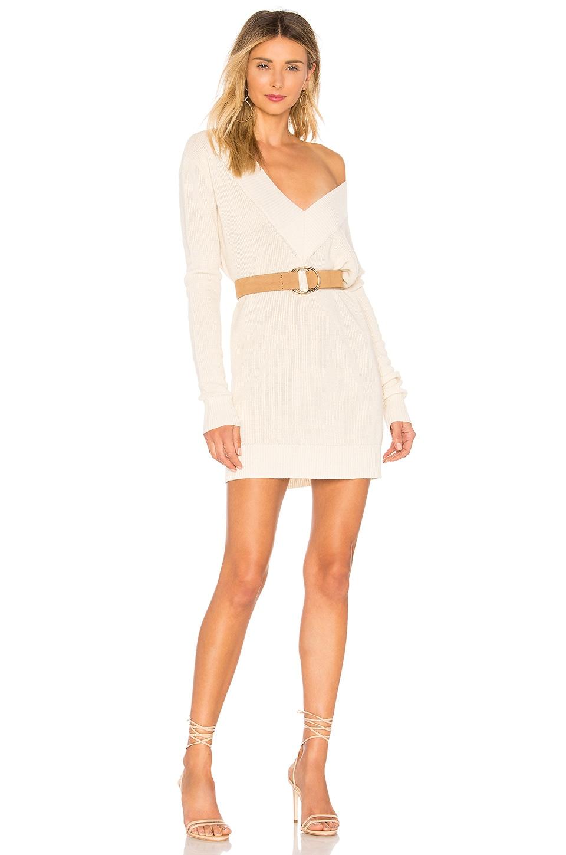 Chrissy Teigen x REVOLVE I.M.G Sweater Dress in Ivory