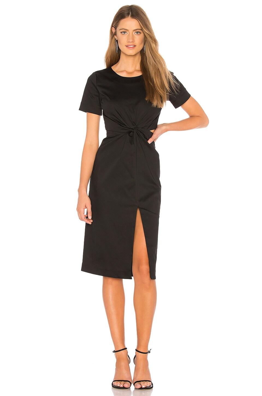 Chrissy Teigen x REVOLVE Pina Colada Midi Dress in Black