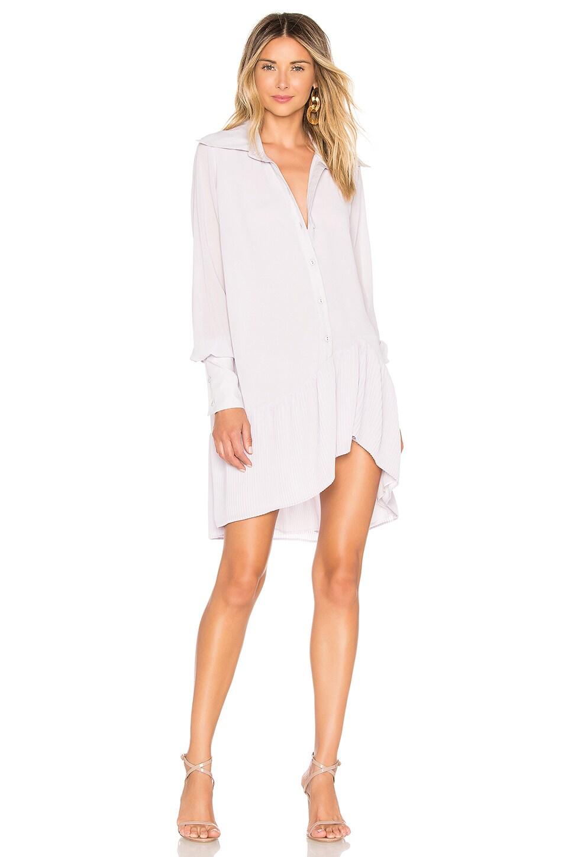 Chrissy Teigen x REVOLVE Patala Mini Dress in Lavender Blue