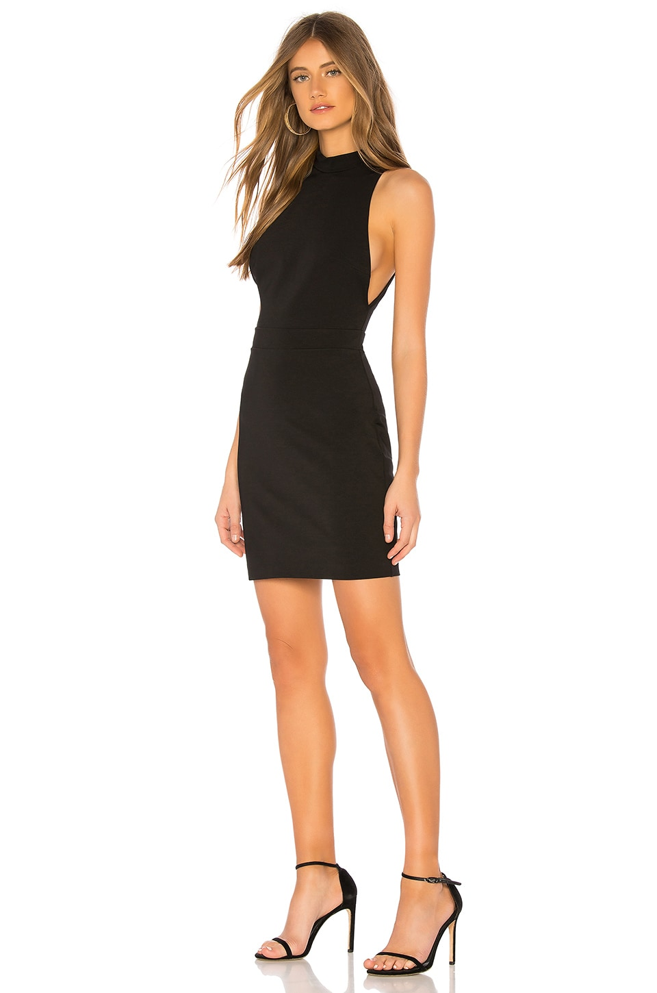 Chrissy Teigen x REVOLVE Luca Mini Dress in Black