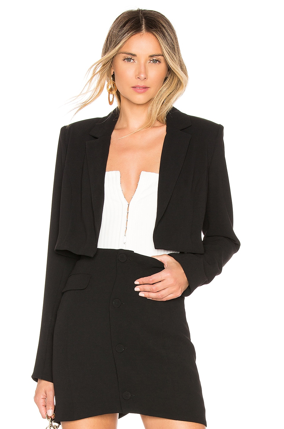CHRISSY TEIGEN X Revolve Josiah Jacket in Black