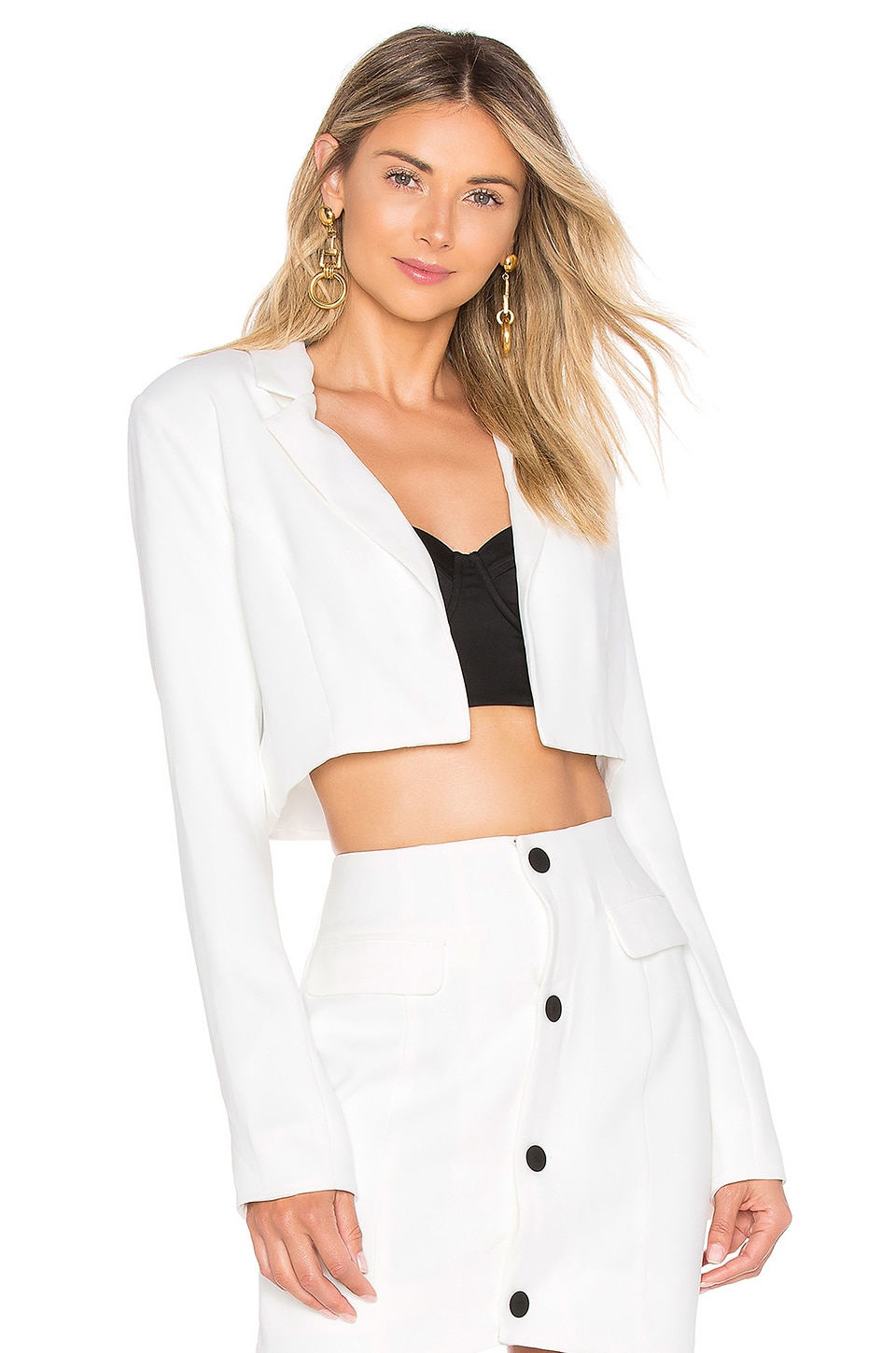 CHRISSY TEIGEN X Revolve Josiah Jacket in White