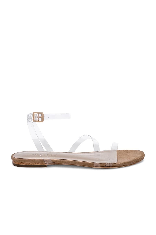 Chrissy Teigen x REVOLVE Mila Sandal in Nude