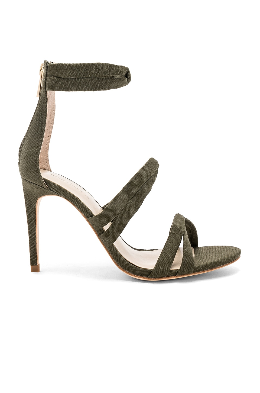 Chrissy Teigen x REVOLVE Marina Heel in Olive