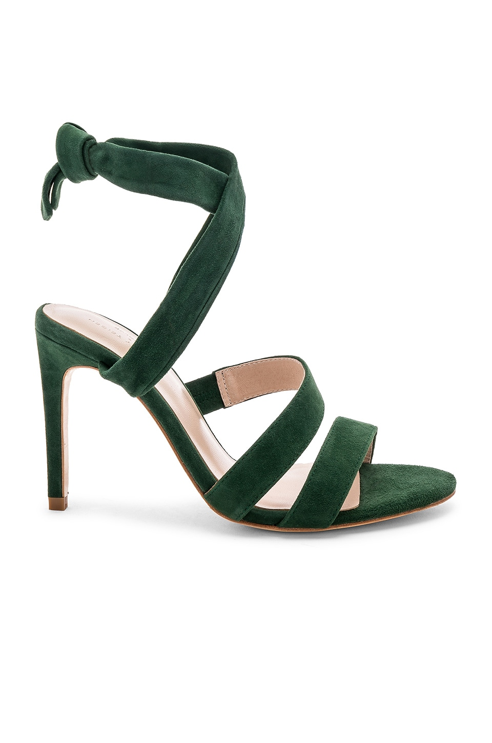 Chrissy Teigen x REVOLVE Stass Heel in Moss Green
