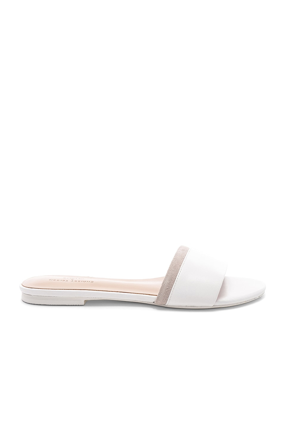 Chrissy Teigen x REVOLVE Bennett Slide in White