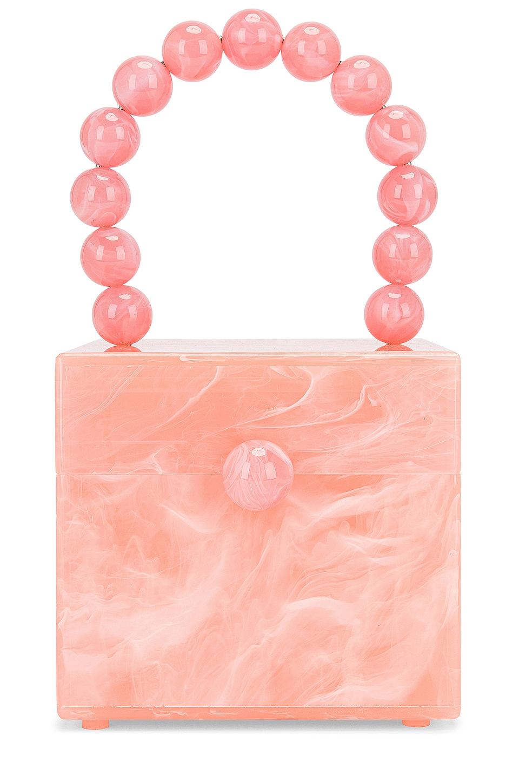 Cult Gaia Eos Box Bag in Pink