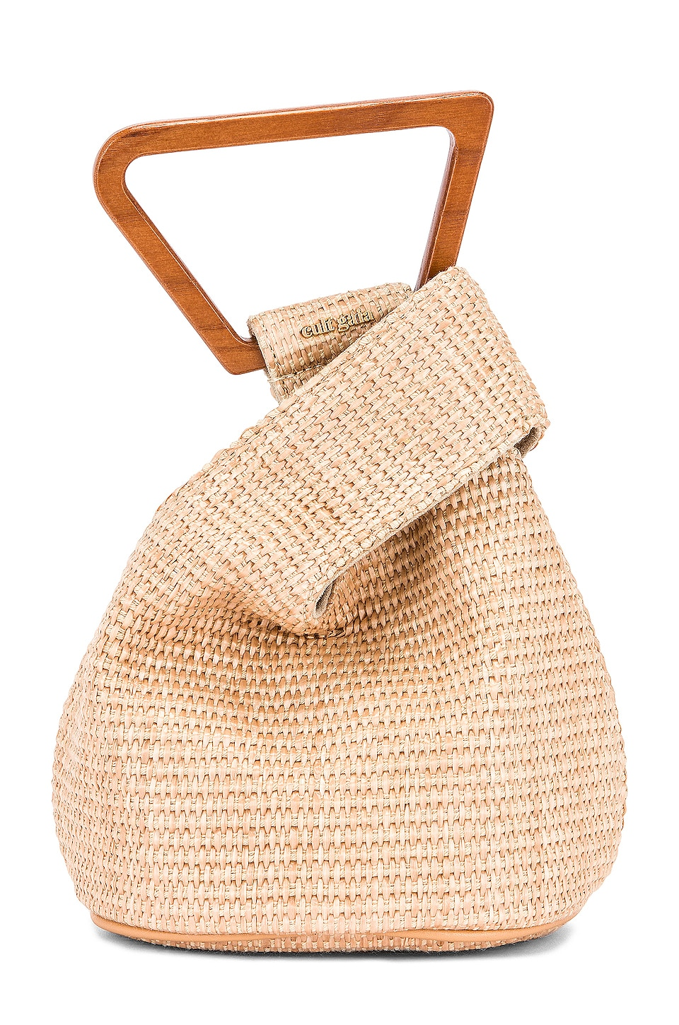 Cult Gaia Mini Astrea Tote in Natural