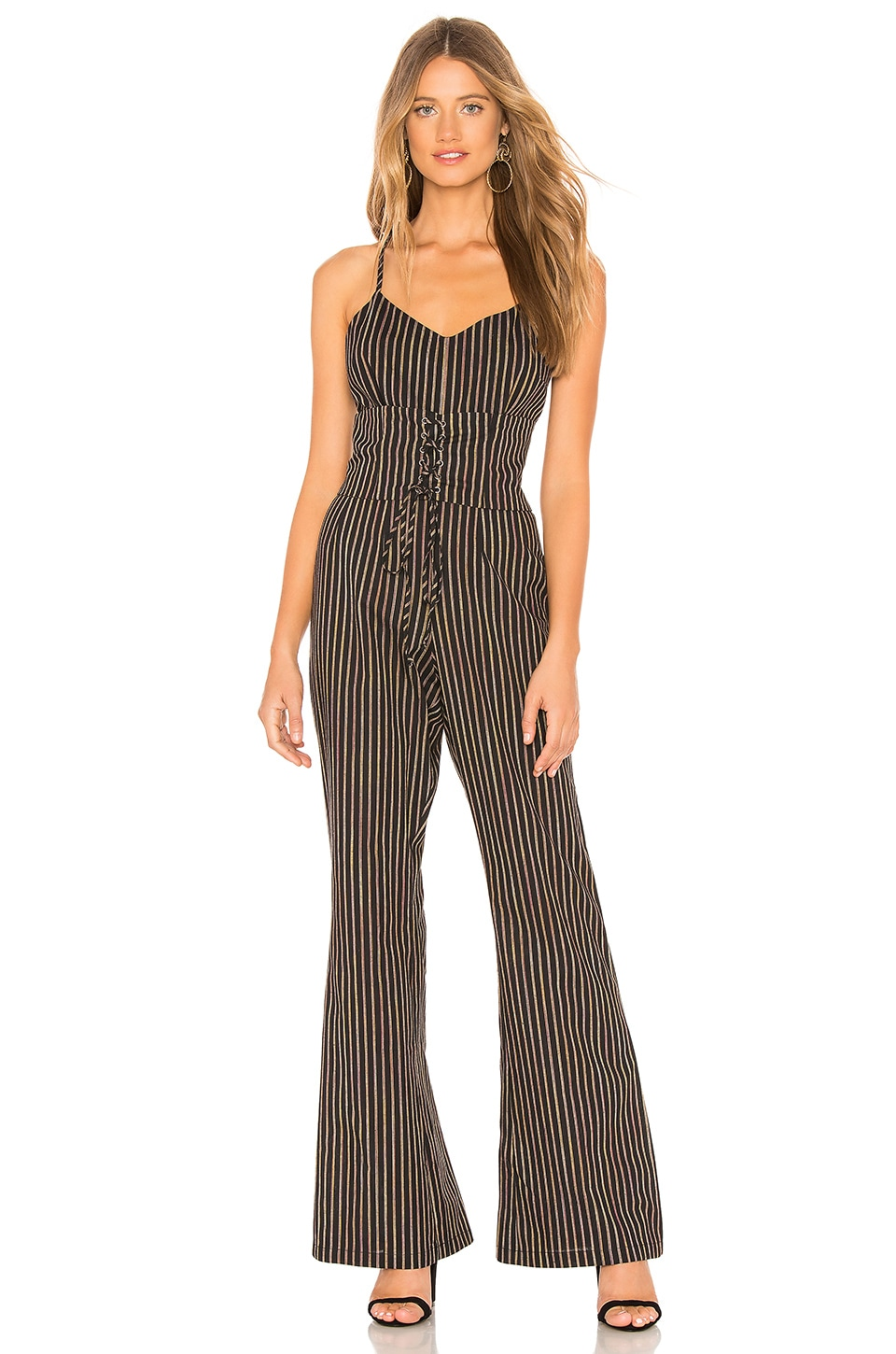 e052e25fcb4e Cupcakes And Cashmere Jaiden Jumpsuit In Black