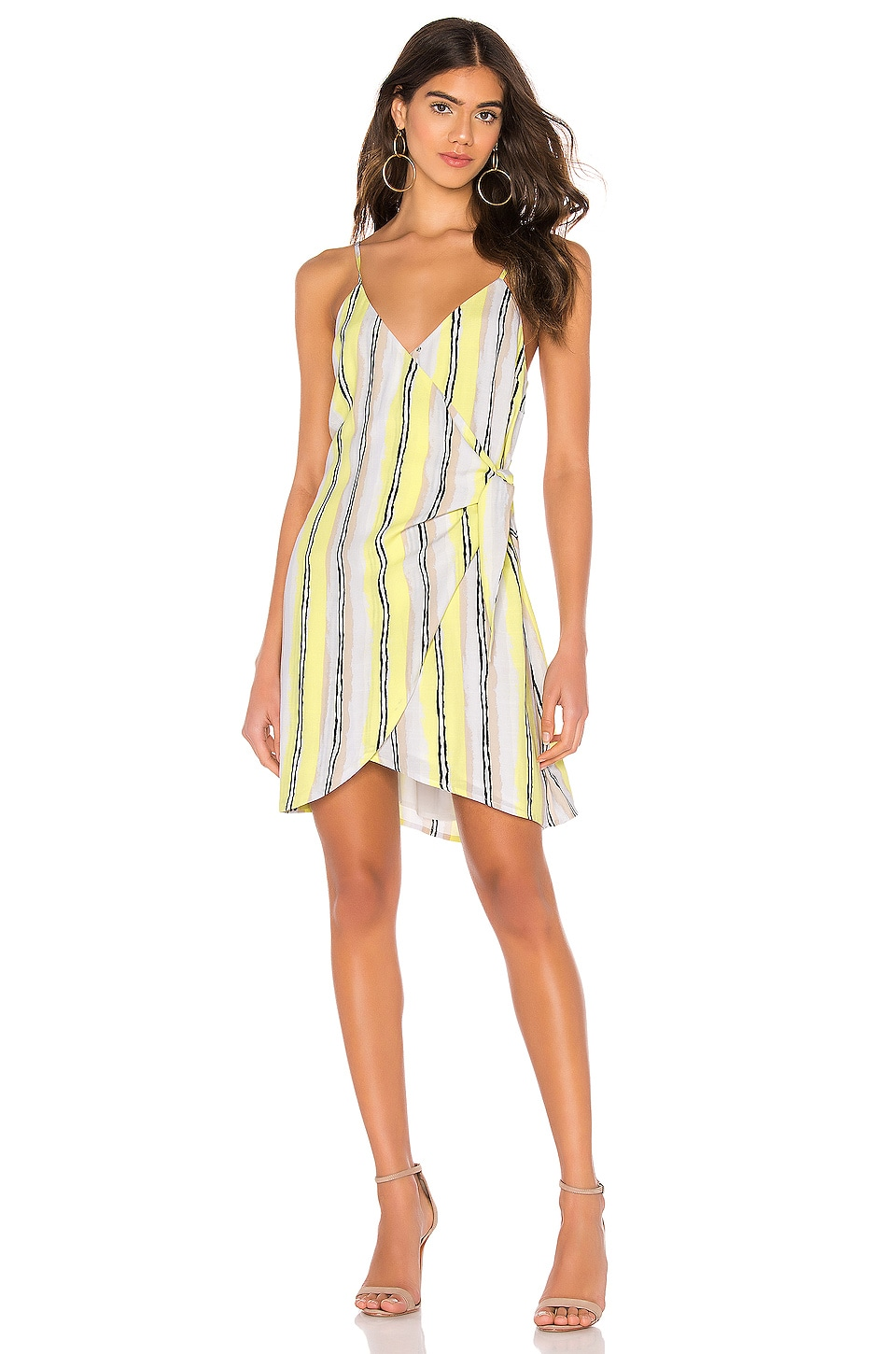 cupcakes and cashmere Rhea Dress in Lemon