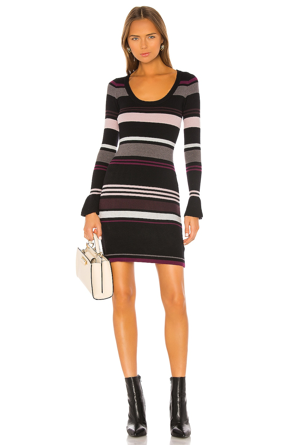 cupcakes and cashmere Cosette Sweater Dress in Black