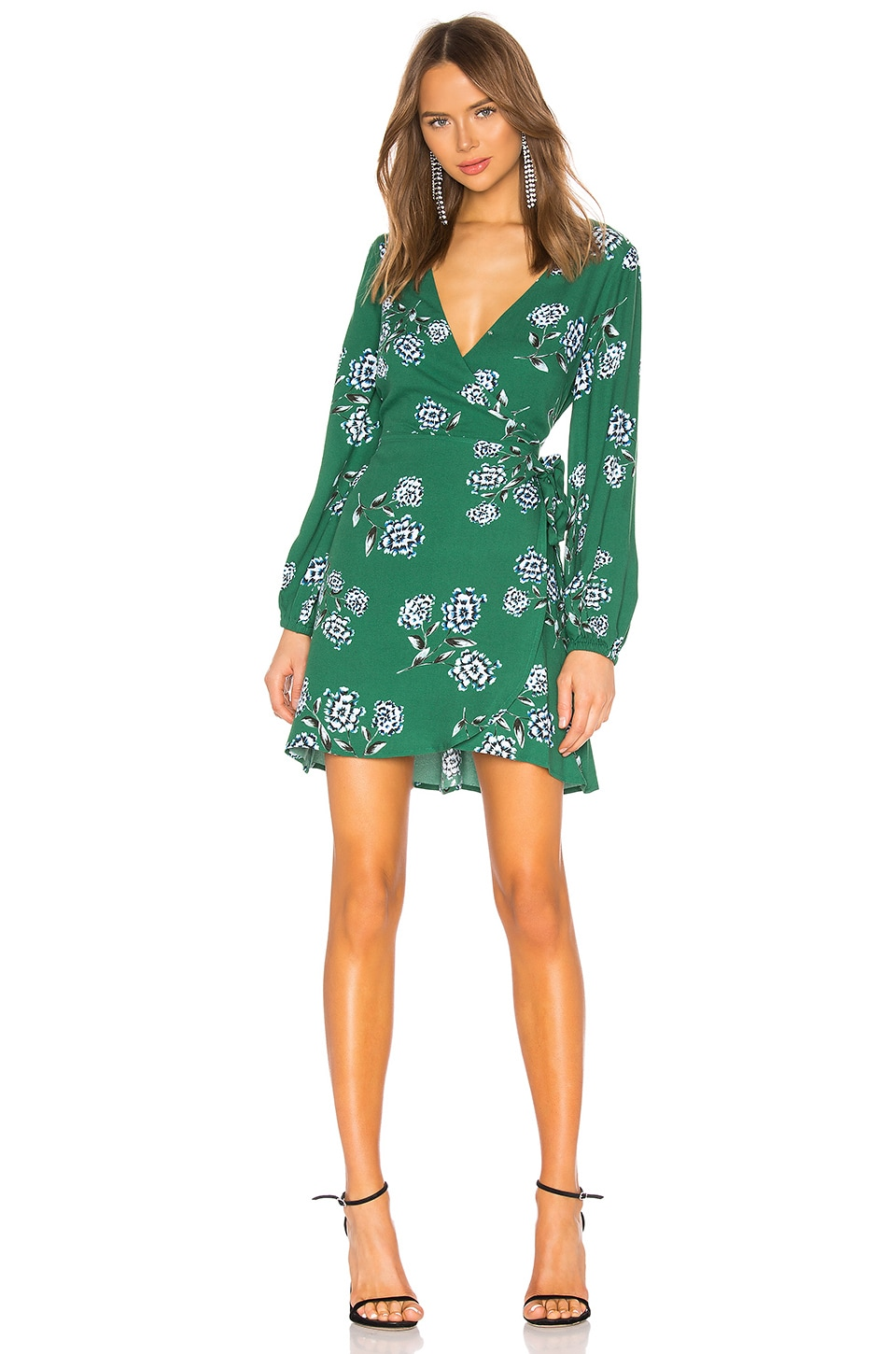 Cupcakes And Cashmere Dresses Mystique Wrap Dress
