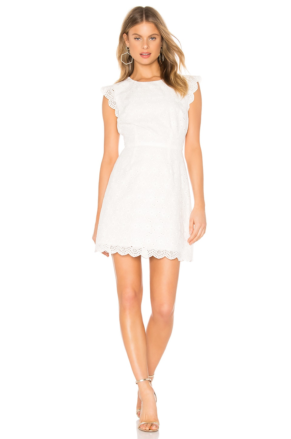 cupcakes and cashmere Keren Dress in White