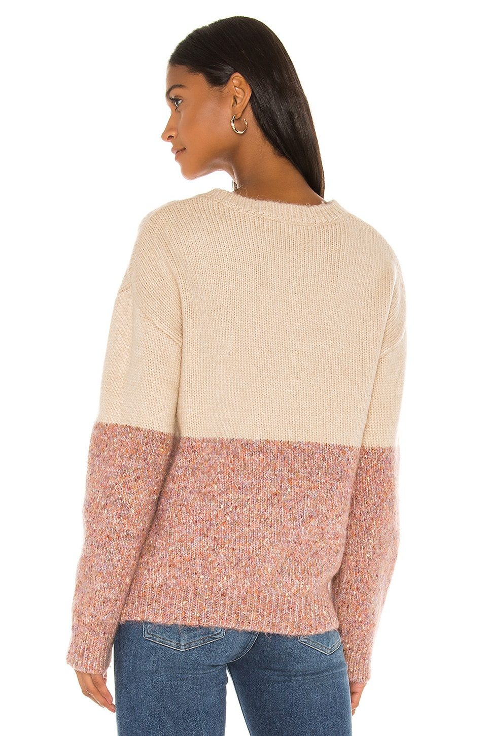 Cupcakes And Cashmere Sweaters Carmel Crew Neck Sweater