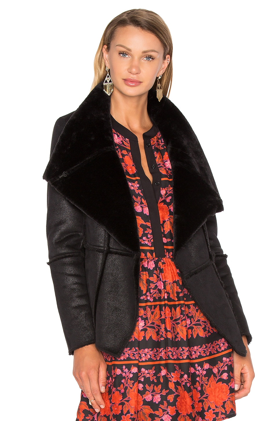 Rivina Jacket with Faux Fur by cupcakes and cashmere