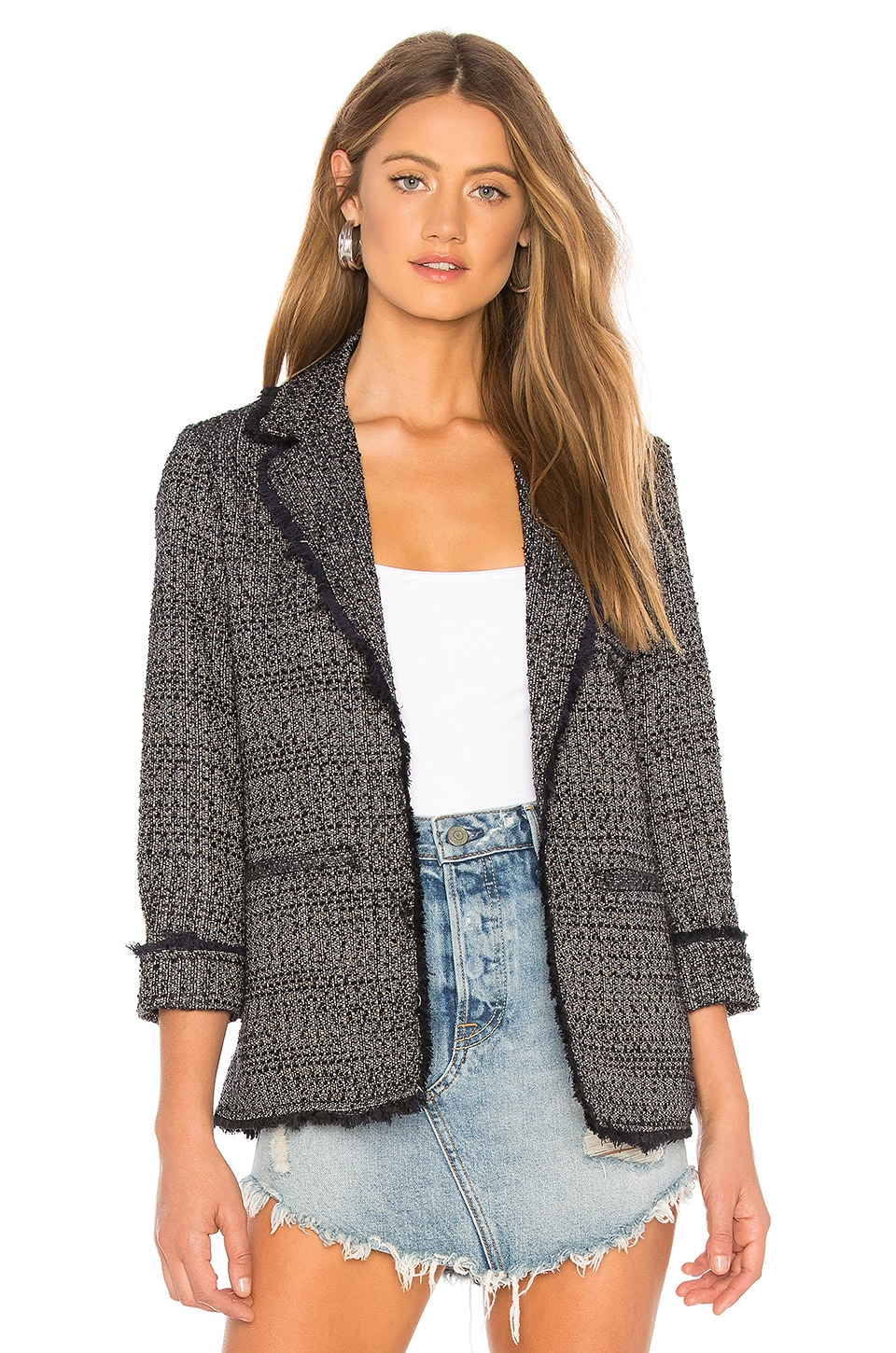 0ef78d060 cupcakes and cashmere Gregory Blazer in Black | REVOLVE