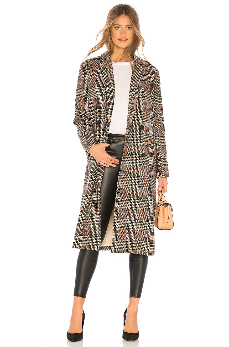cupcakes and cashmere Adi Coat in Plaid