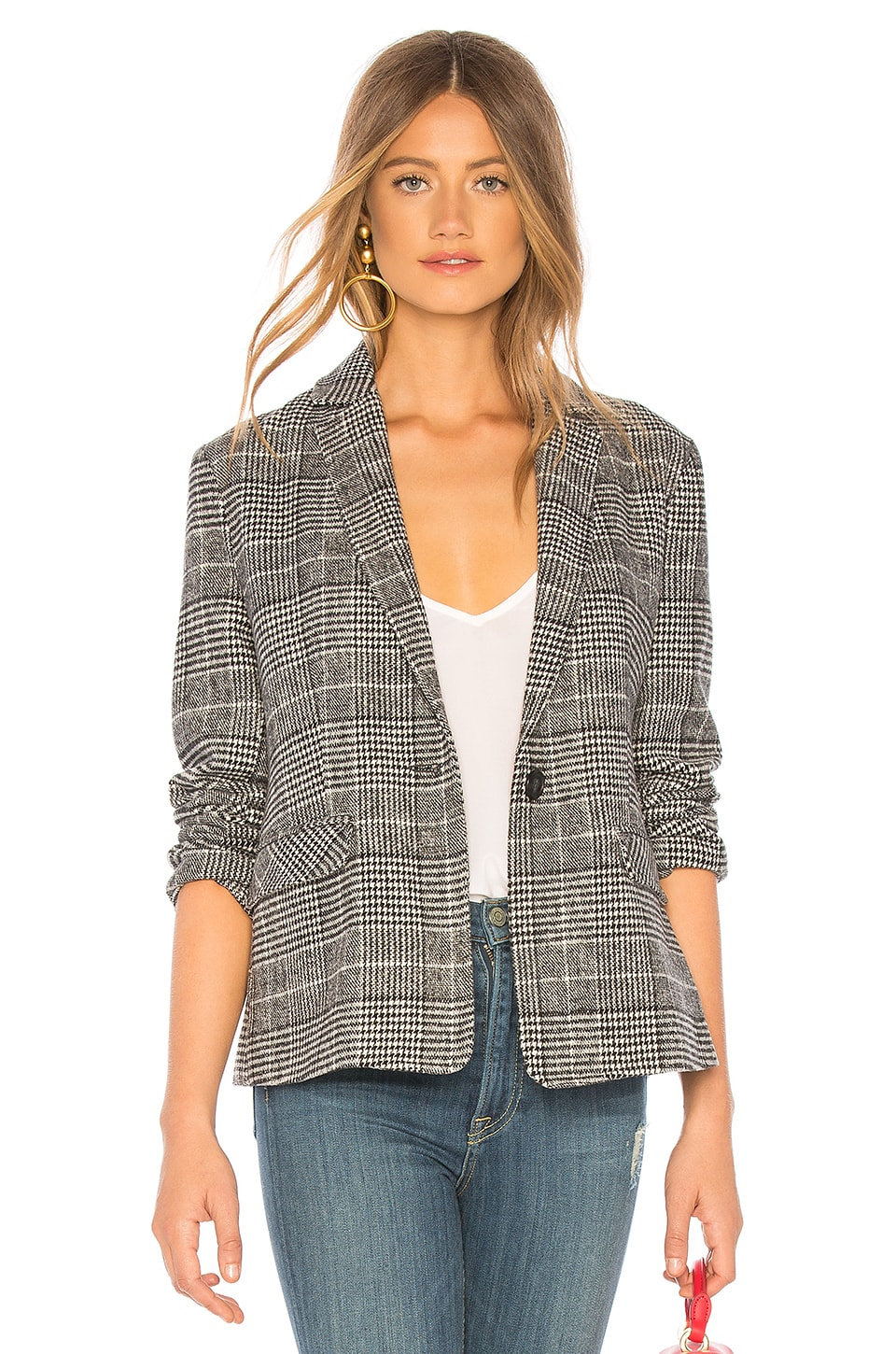 cupcakes and cashmere Bela Blazer in Black