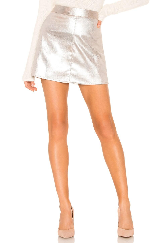 Keller Skirt in Metallic Silver