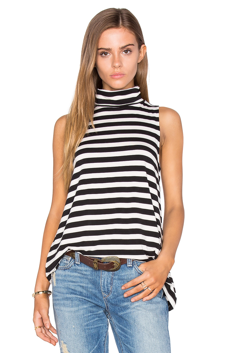cupcakes and cashmere Shelene Top in Stripe