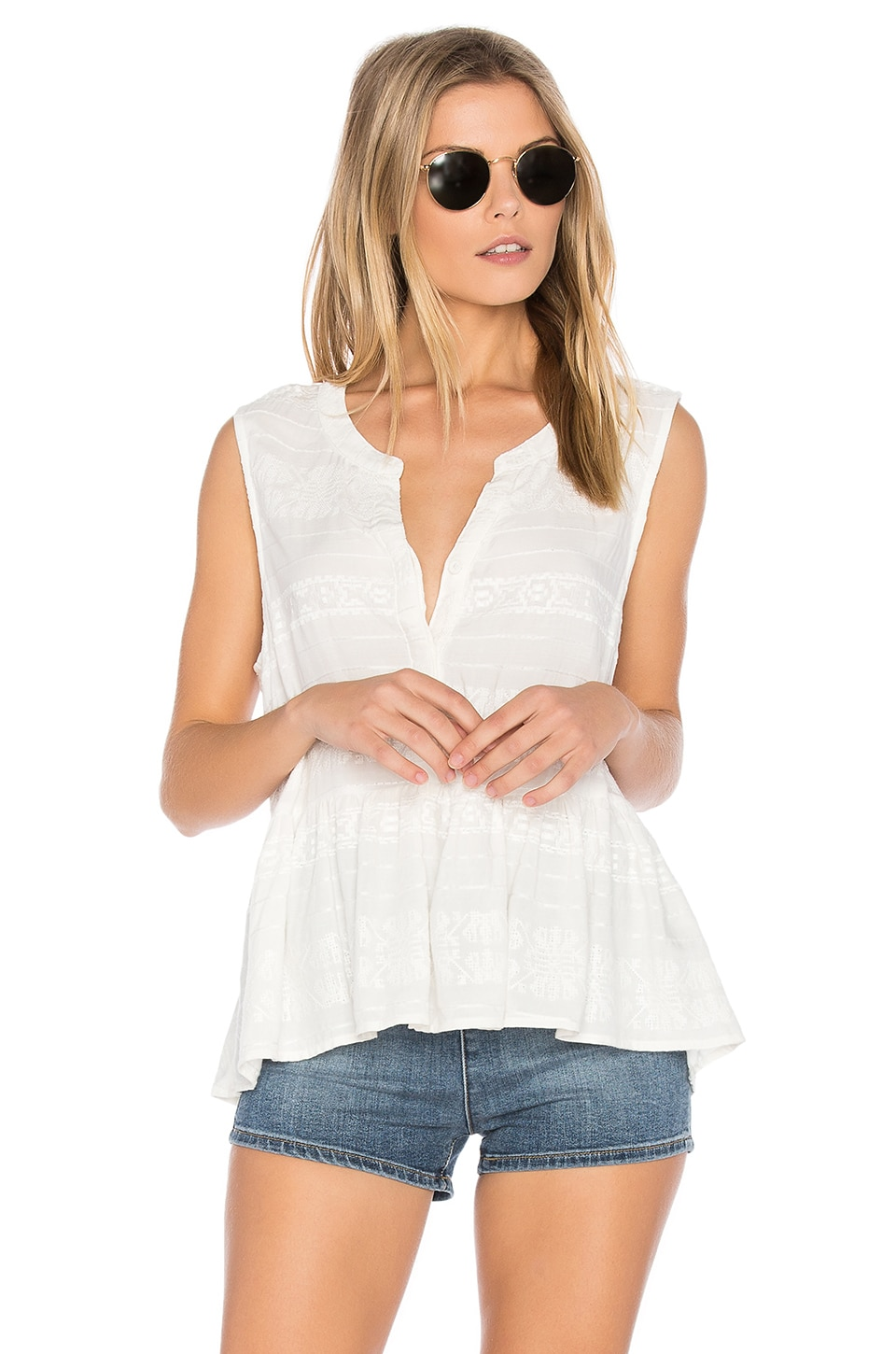 Hughes Top by Cupcakes And Cashmere