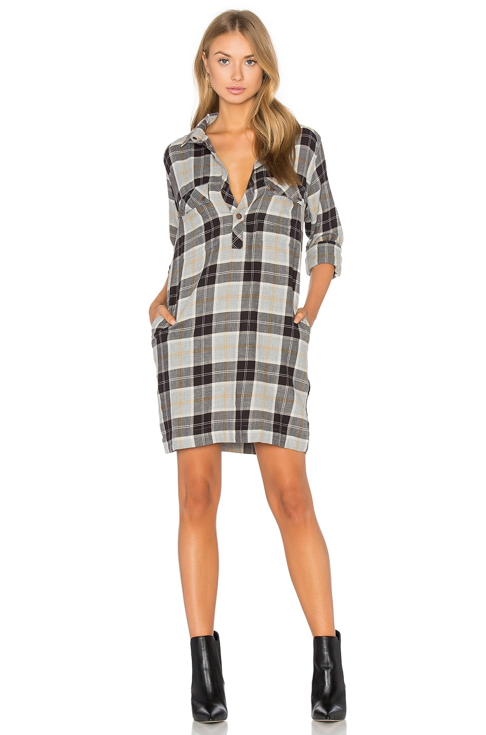 The Lara Shirt Dress by Current/Elliott