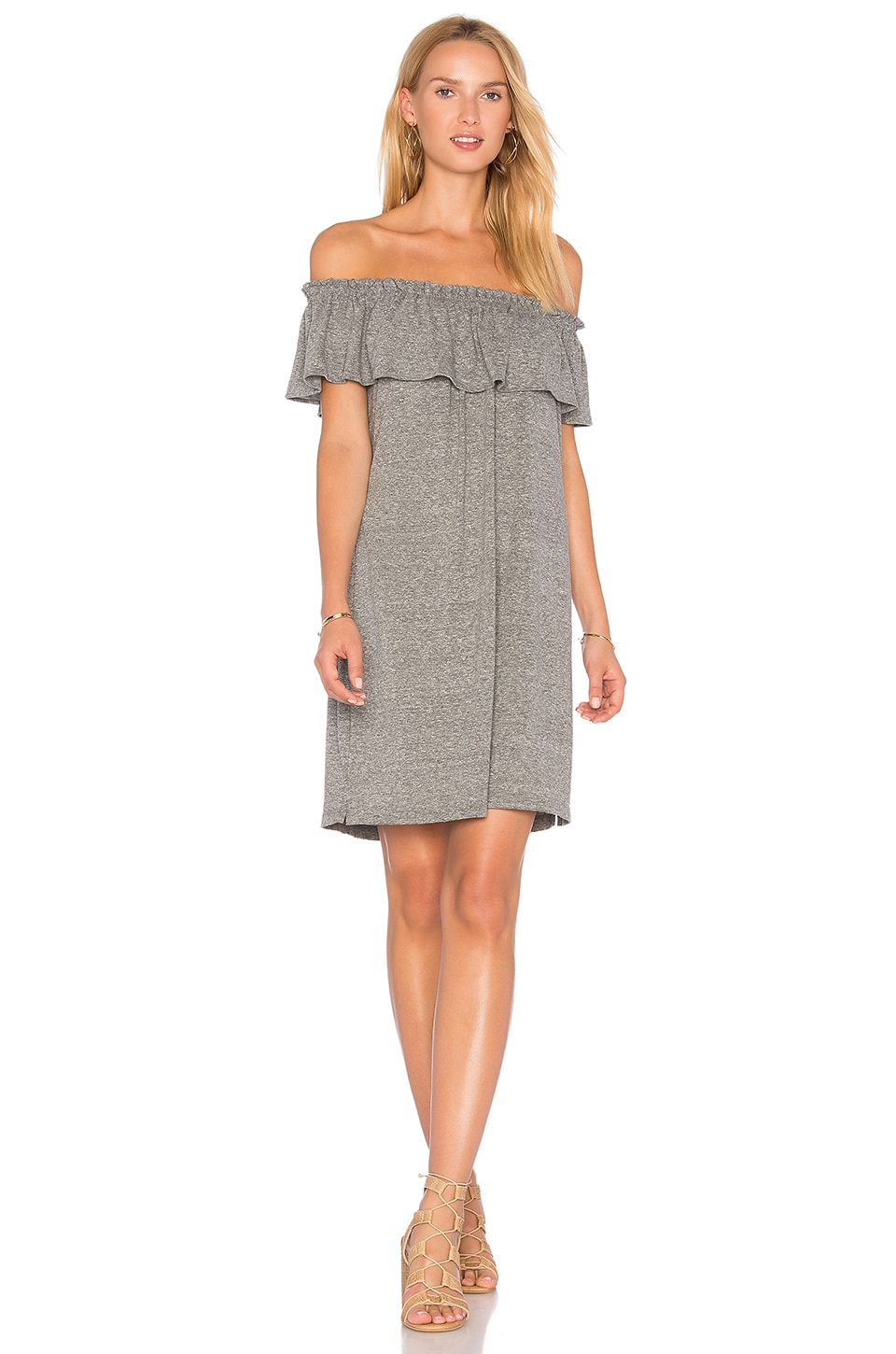 The Ruffle Dress by Current/Elliott