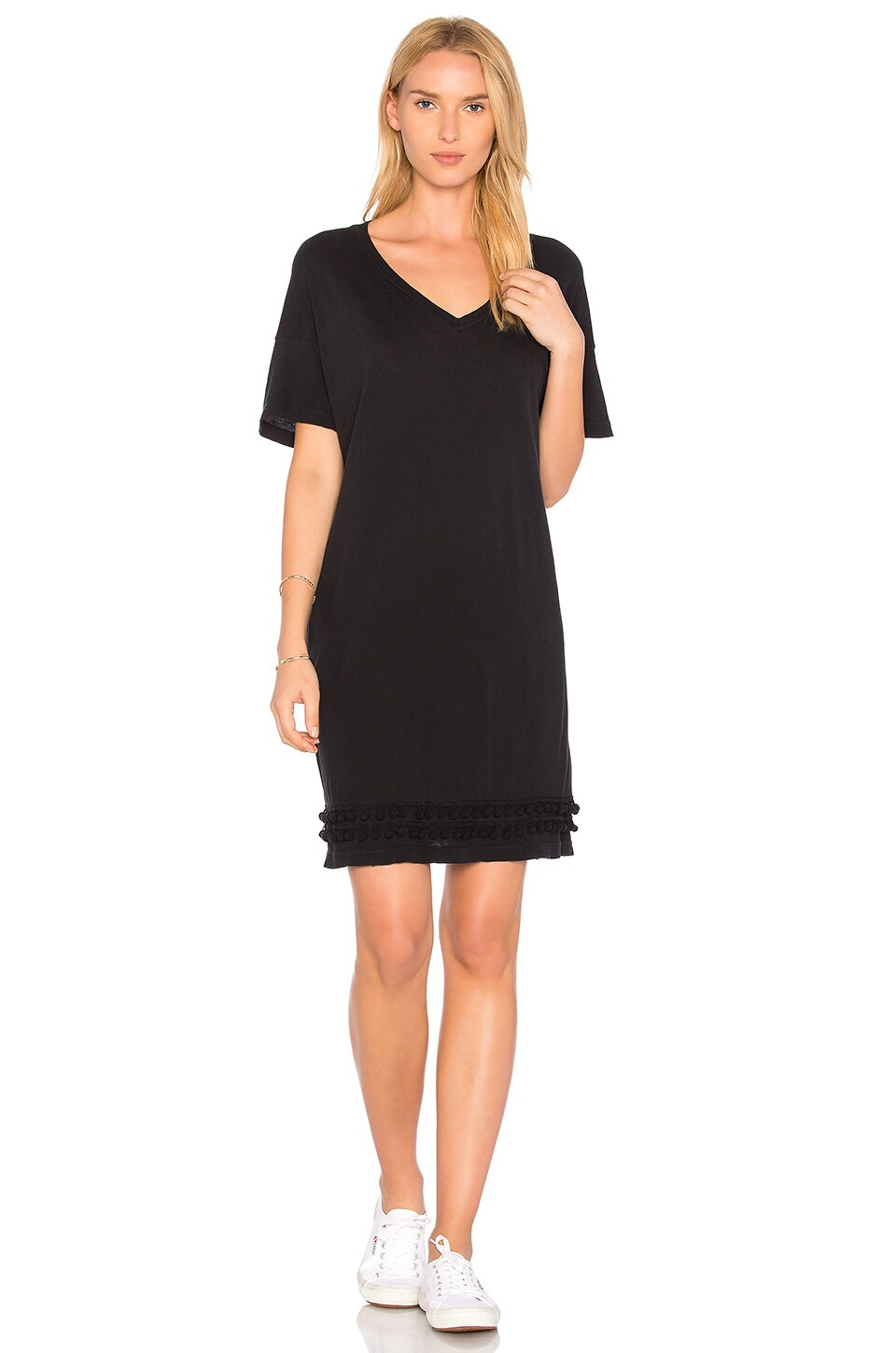The Pom Pom Tee Dress by Current/Elliott