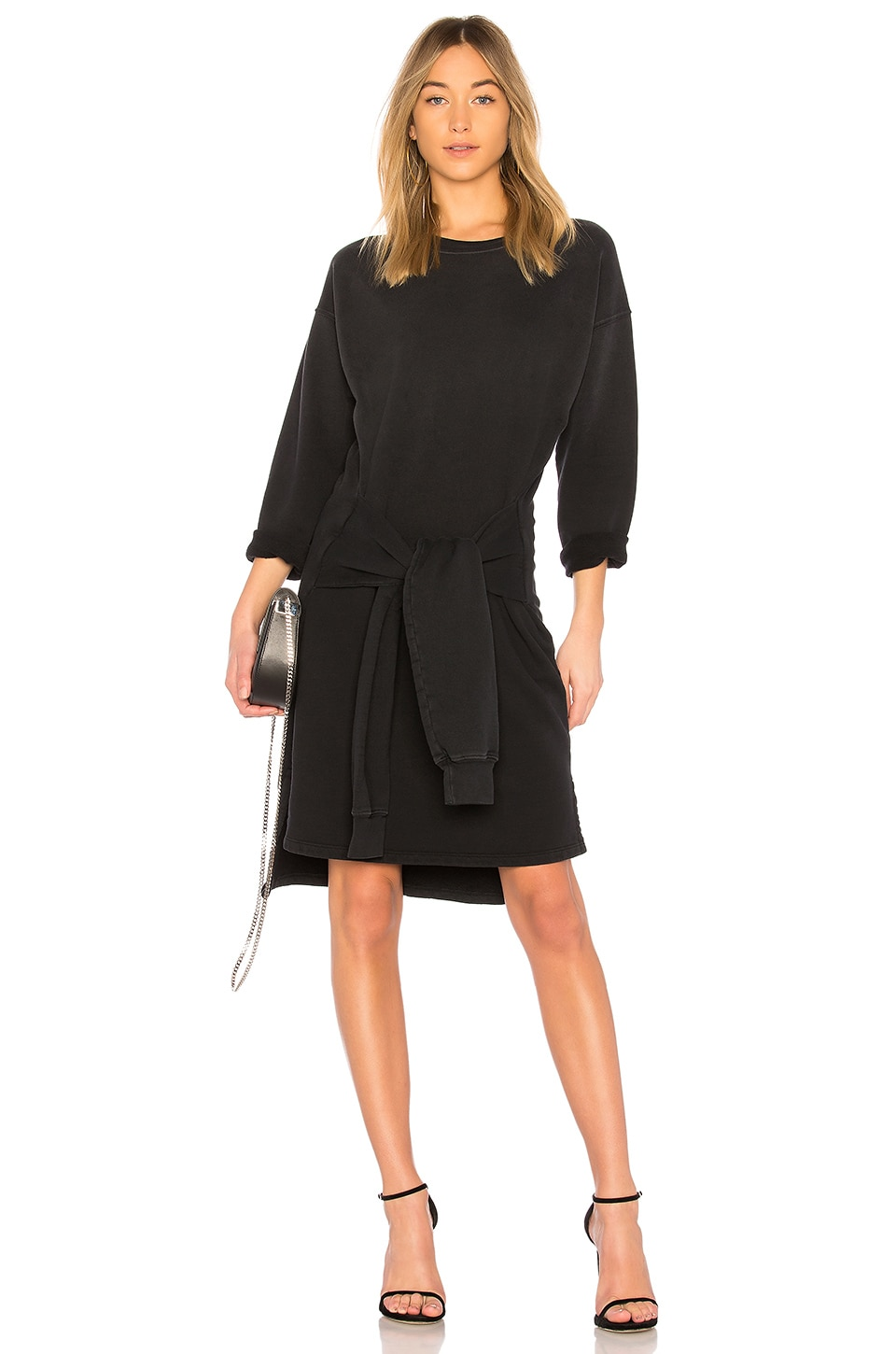 The Double Sweatshirt Dress by Current/Elliott