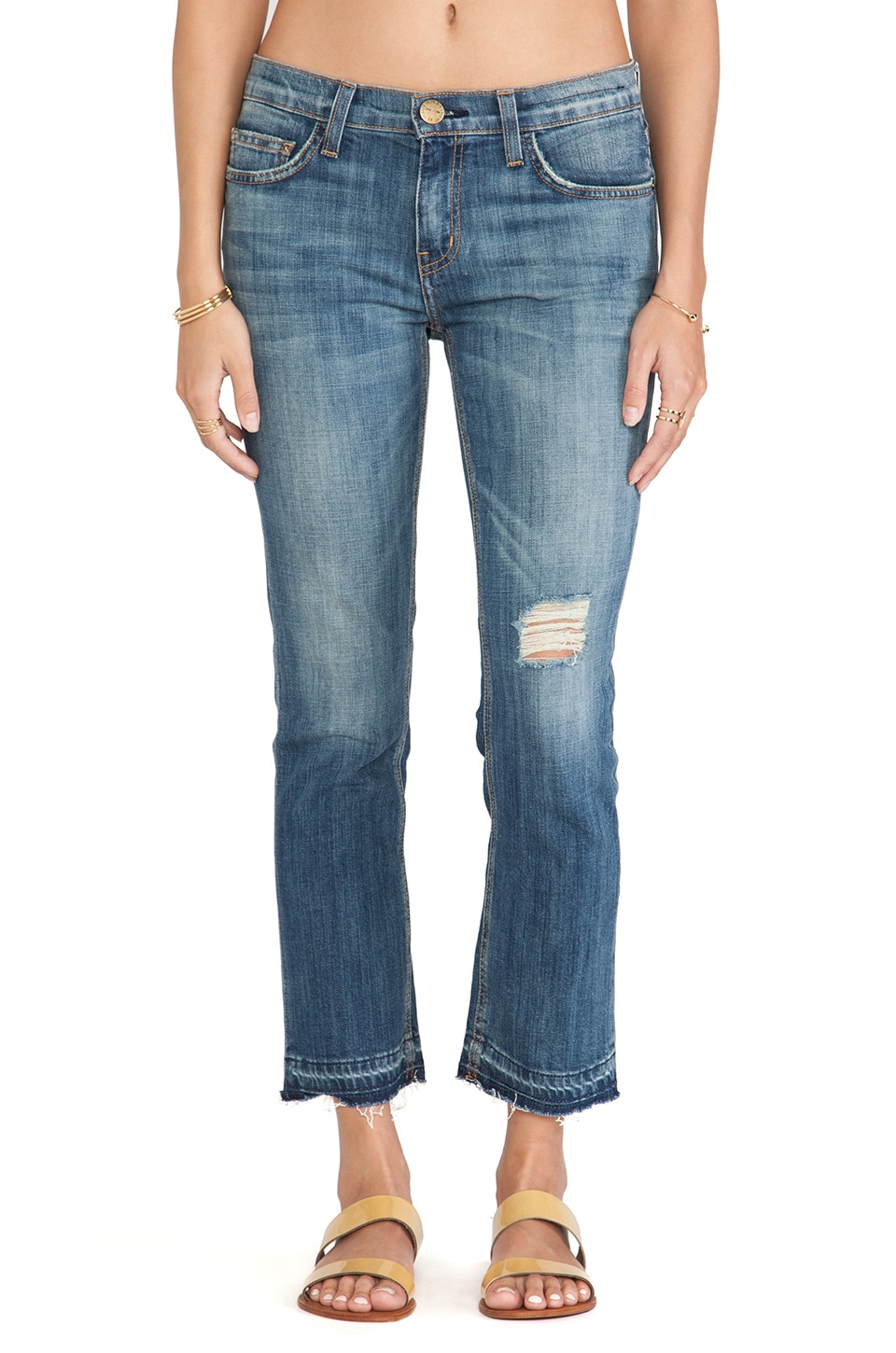 Current/Elliott Current/Elliot U Shape Jean in Super Loved