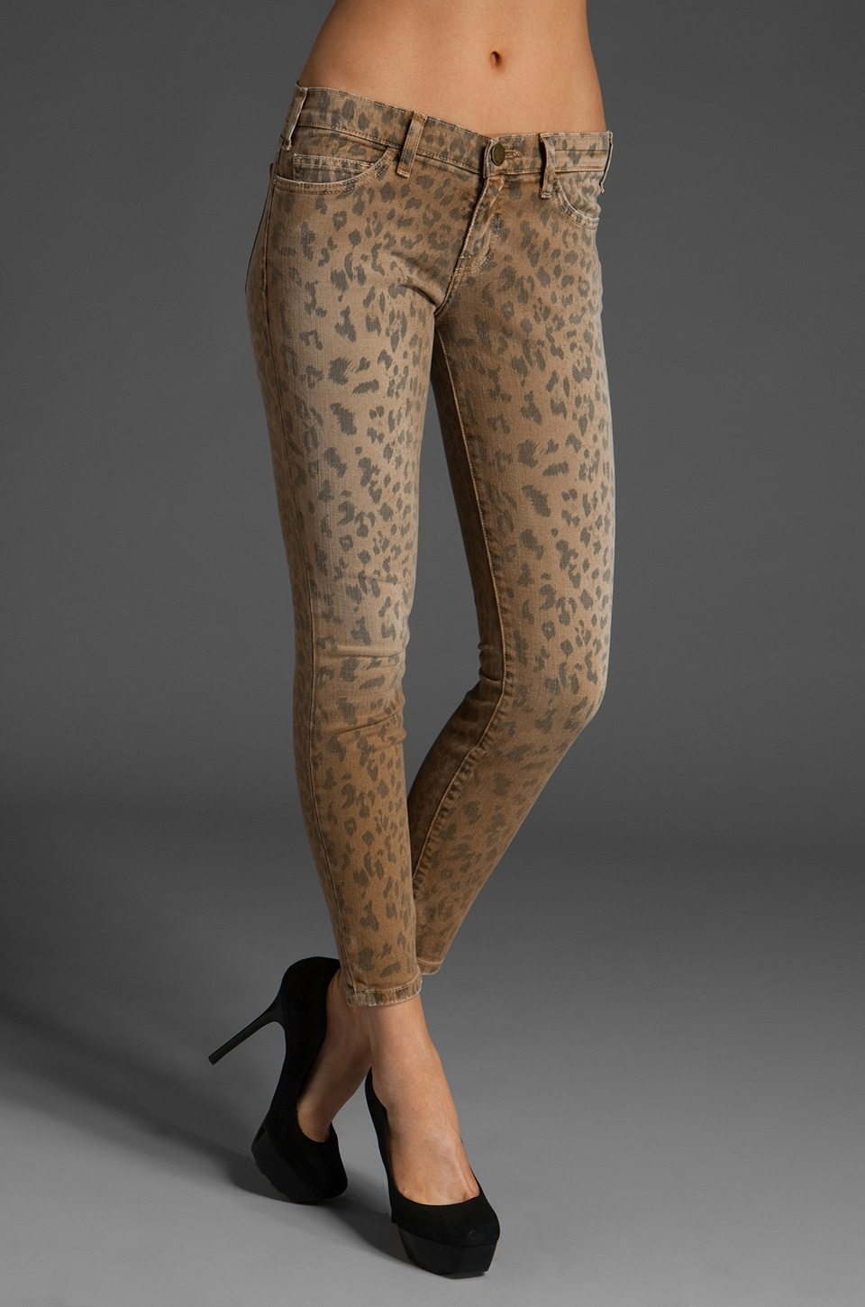Current/Elliott The Stiletto in Camel Leopard
