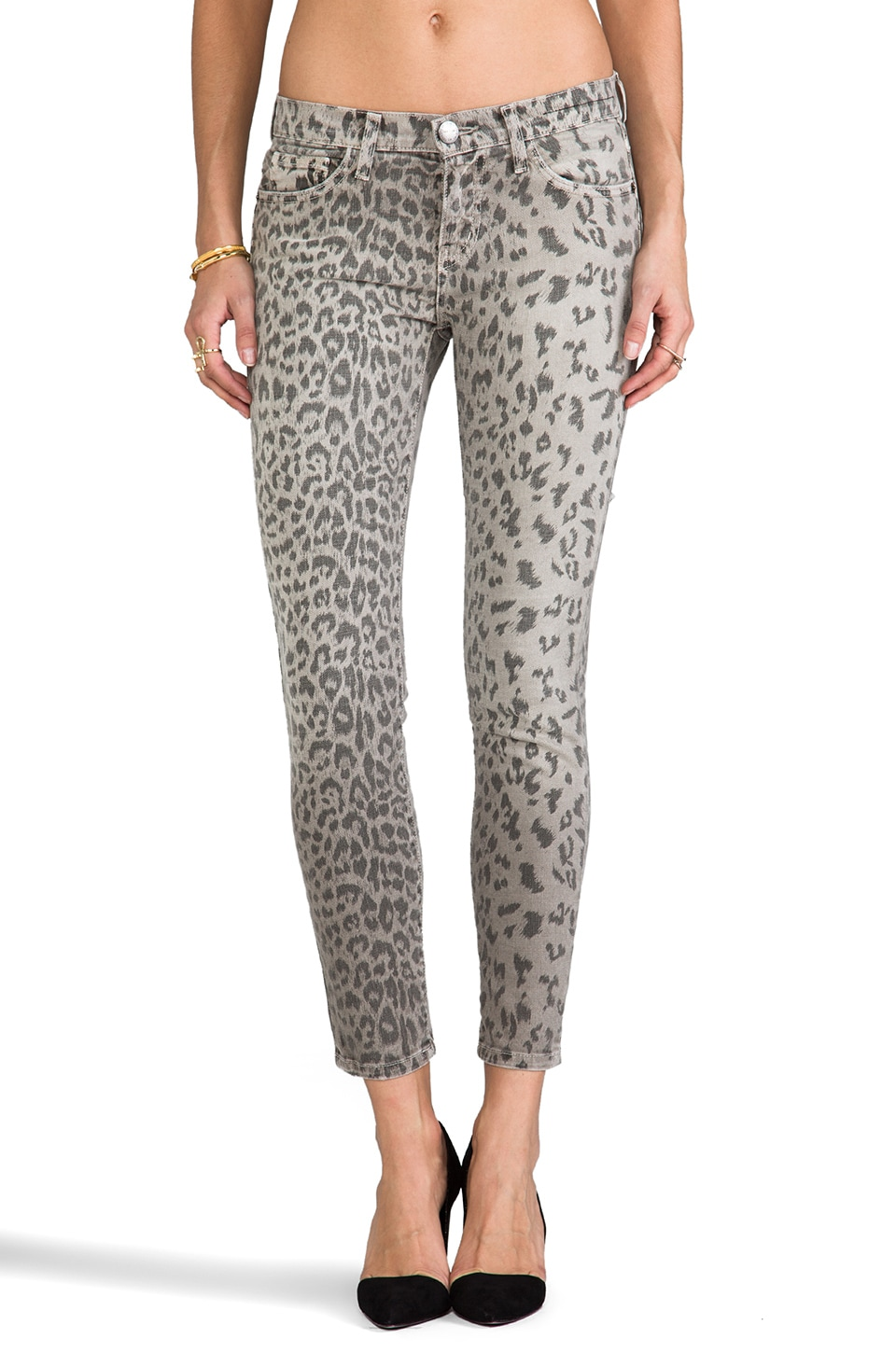 Current/Elliott The Stiletto en Grey Leopard