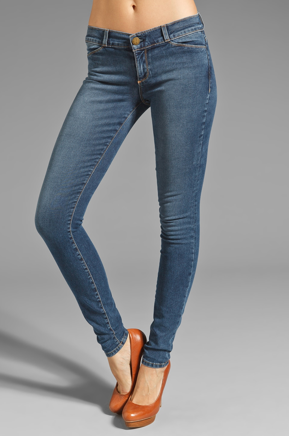 Current/Elliott The Jean Legging in Roulette