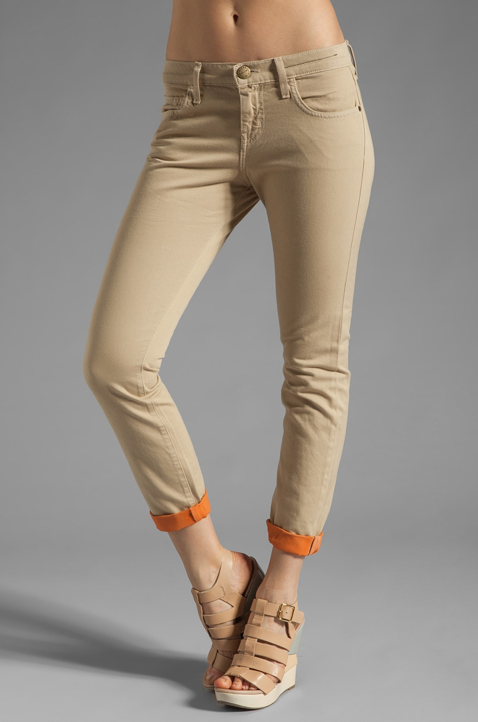 Current/Elliott Jean Roller en Safari with Bright Coral