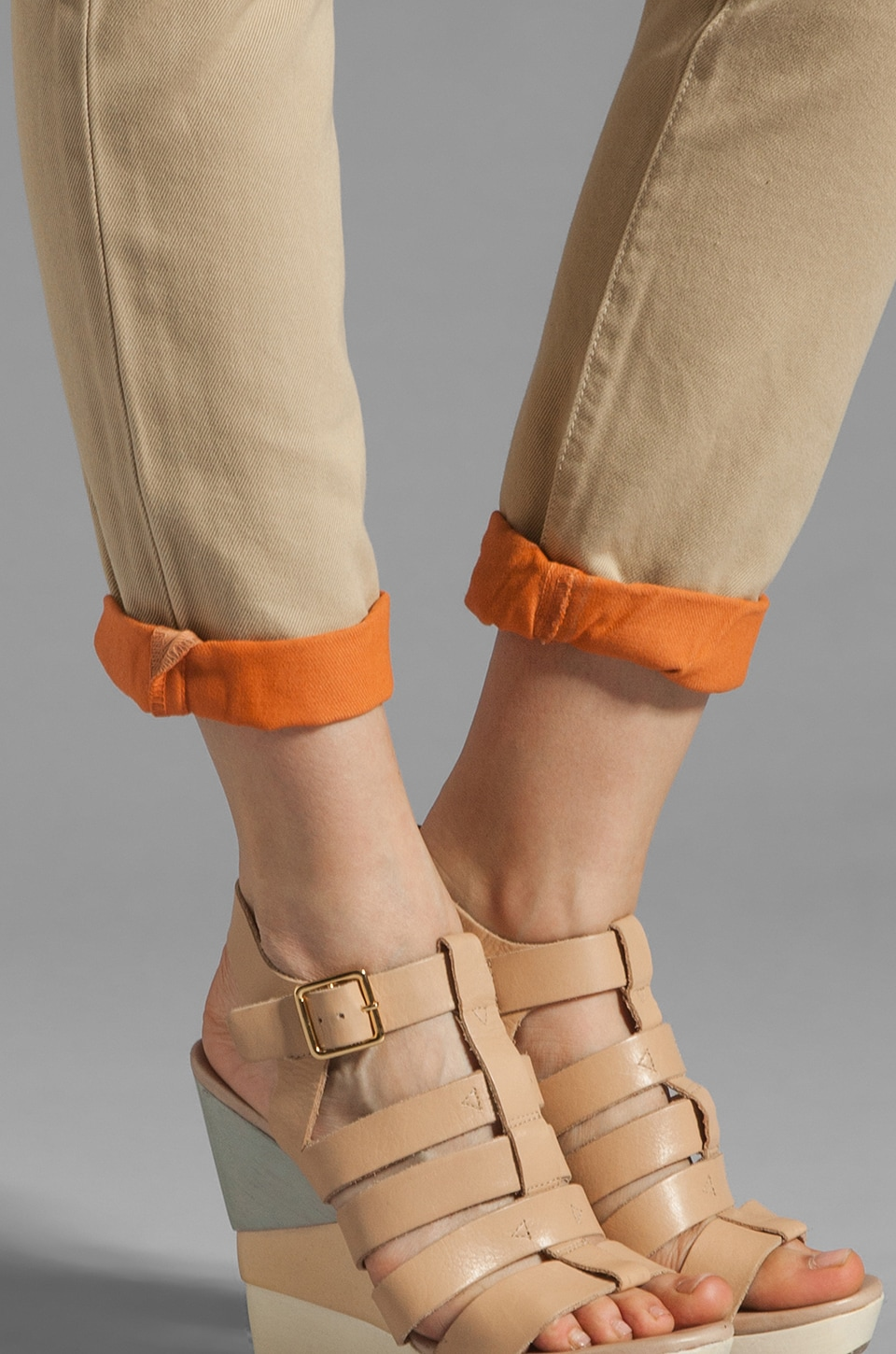 Current/Elliott The Roller in Safari with Bright Coral