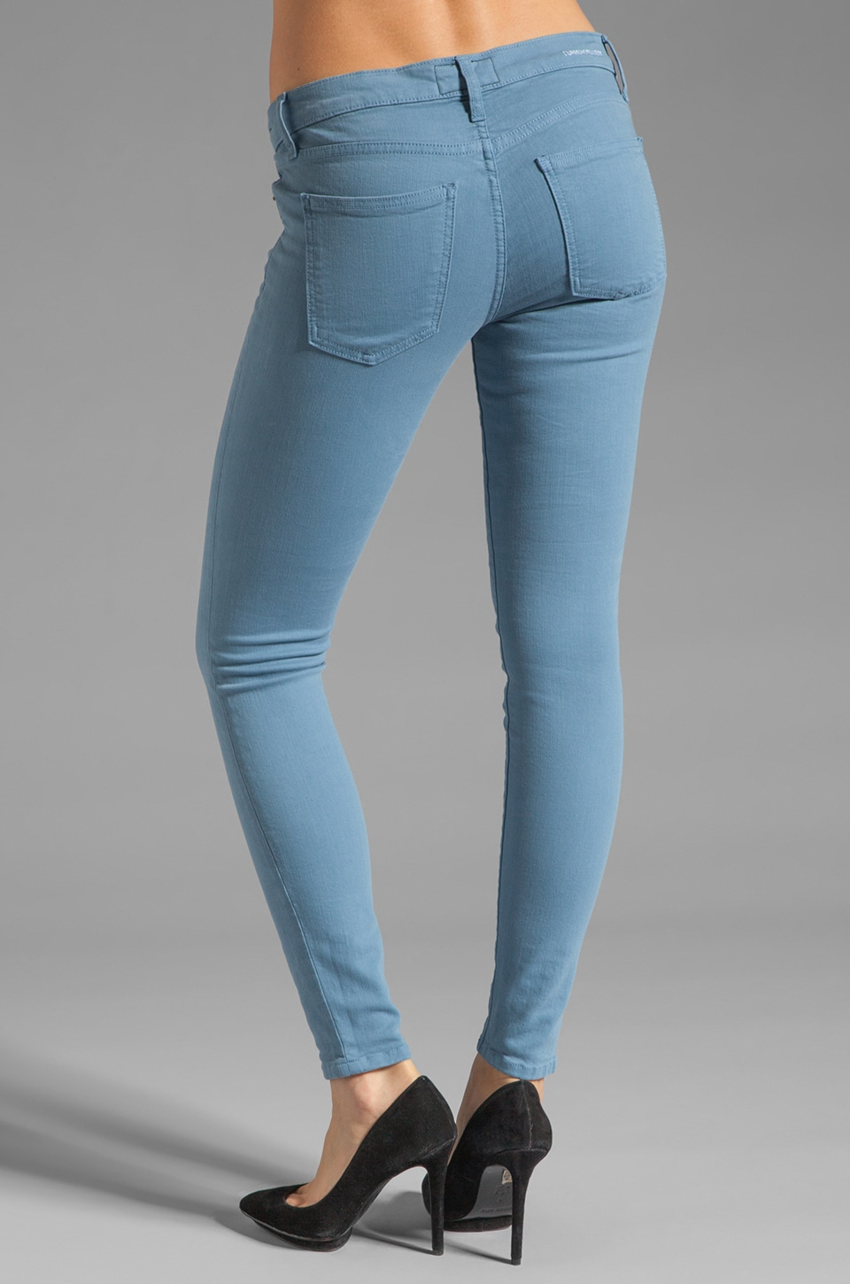 Current/Elliott The Ankle Skinny in Blue Shadow