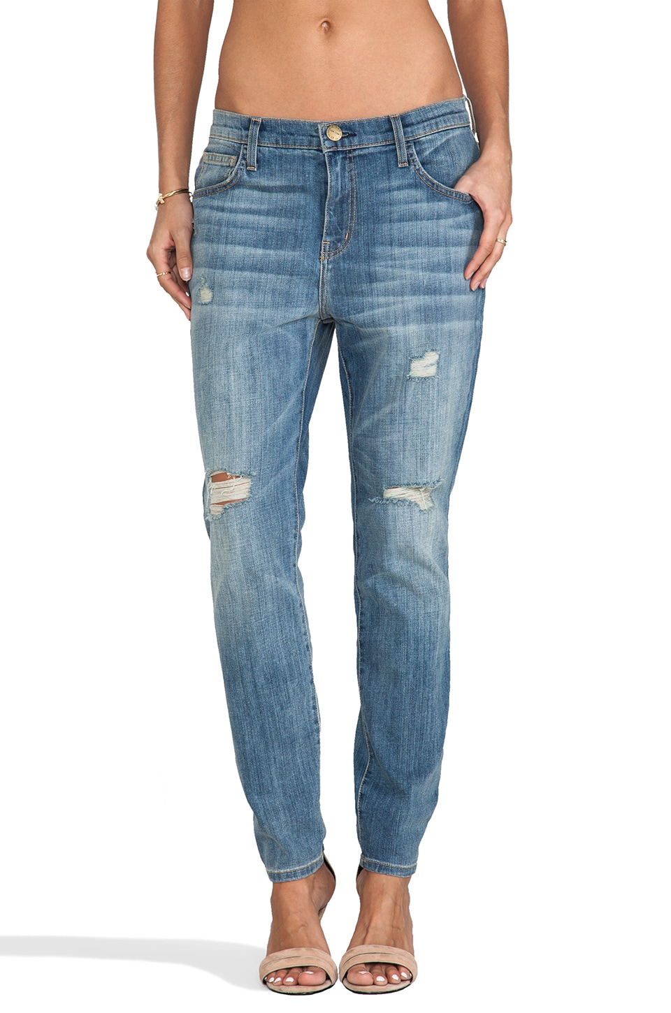 Current/Elliott Jean Stiletto large en Driftwood Destroy