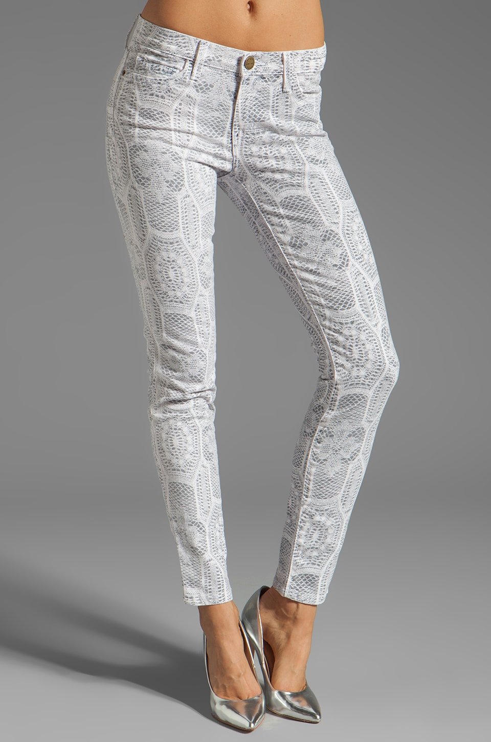 Current/Elliott The Ankle Skinny in Crochet