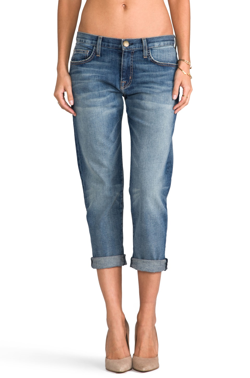 Current/Elliott EXCLUSIVITÉ Jean Boyfriend en Pixie