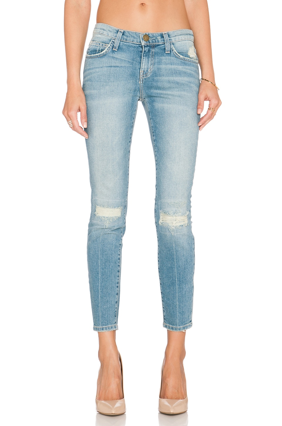 Current/Elliott The Stiletto Skinny in Heirloom Repair