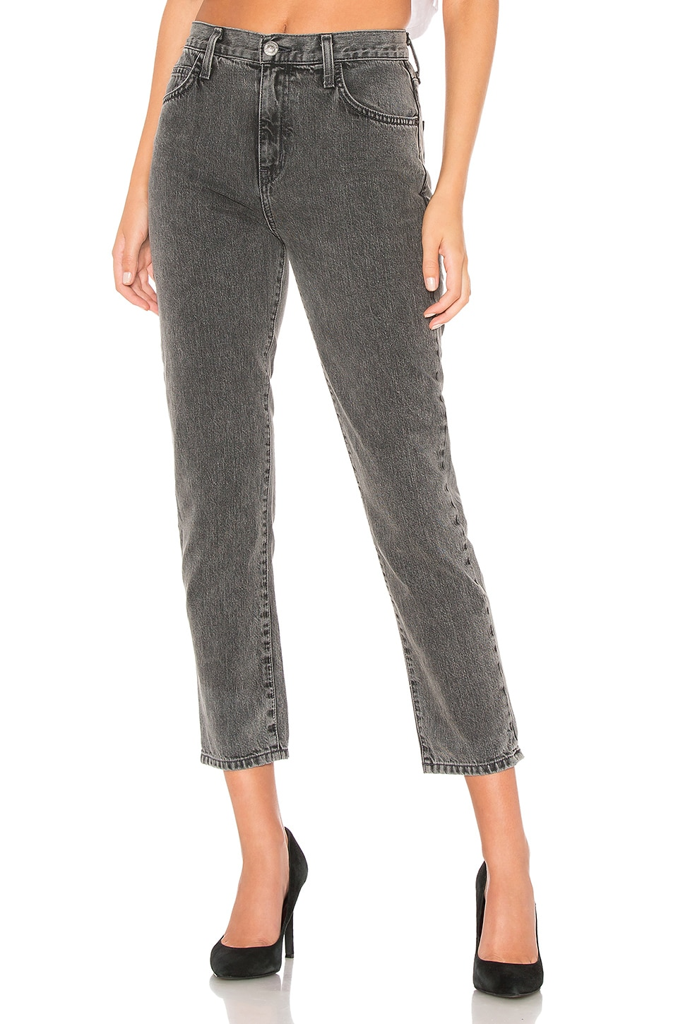 Current/Elliott The Vintage Cropped Slim in Faulkner