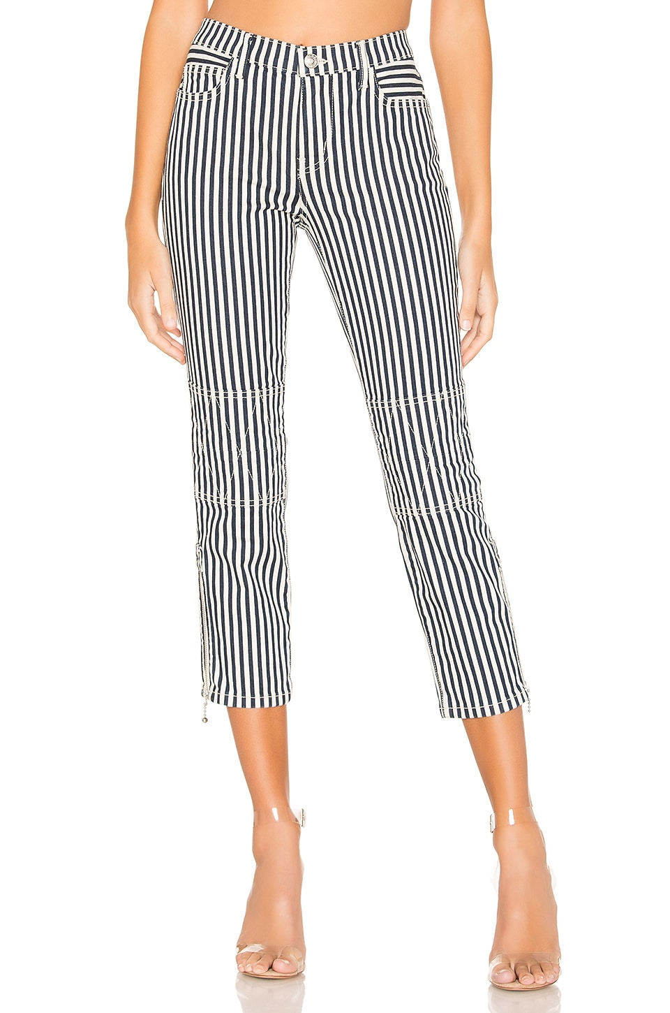 Current/Elliott The Cropped Lexton en Modern Stripe